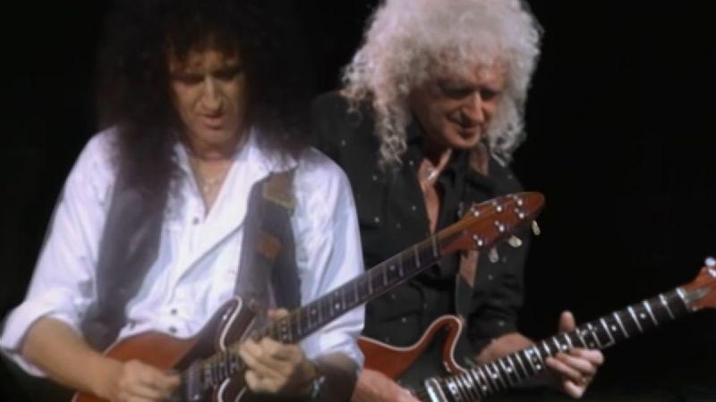 Brian May regresa el tiempo para tocar con su versión joven en el VIDEO de 'Back To The Light'